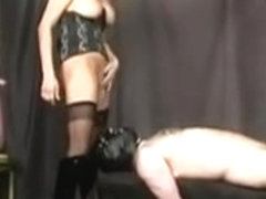 Mistresse cuckold also cumeating