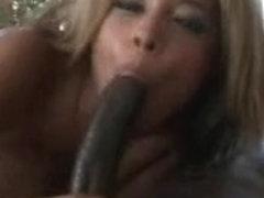 Alanna Lee takes a chunky schlong