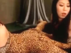 Japanese Lesbian Leopard Sex