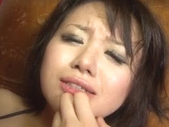 ObedientHaruka Uchiyama fucked with big toys
