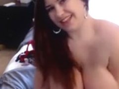 Super chubby voluptuous dark haired bitch loves teasing