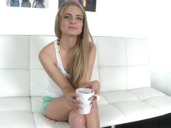 Cayenne Klein in Blonde Amateur Fucked On Camera!