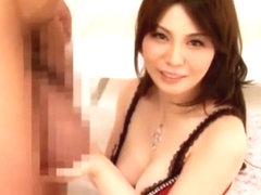 Horny Japanese slut Karen Natsuhara in Exotic Big Dick, POV JAV scene