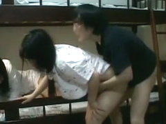 Hottest Japanese whore Haruki Sato in Incredible Doggy Style, Fingering JAV movie