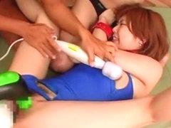Amazing Japanese chick Maya Sakamoto, Sakura Ichinose, Ren Hitomi in Hottest Gangbang, Fetish JAV .