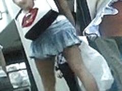 View up jeans mini petticoat