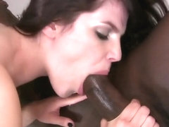White Slut Used By Black Cocks, Anal Creampie And Facias