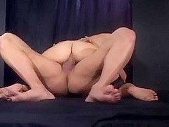 Kinky foot fetish and then fucking in stockings