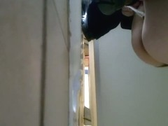 My amazing spy video caught a girl peeing in women
