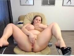 Breasty big beautiful woman Undresses