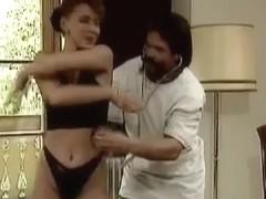 Crazy lady makes doctor cum