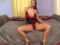 Busty gaping slut gets hard anal