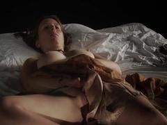 Girl masturbating -April C