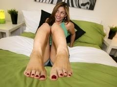 Magical Foot Job with Lisa