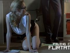 Angel Smalls in Filing Clerk Flirtation - OfficeObsession