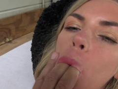 Exotic pornstar Lolly Gartner in Horny Blonde, Facial xxx video