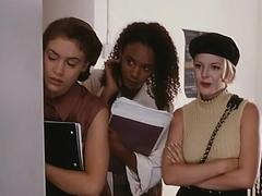 Glori Gold,Sabrina Allen,Shayna Ryan,Alyssa Milano,Charlotte Lewis,Jennifer Tilly in Embrace Of Th.