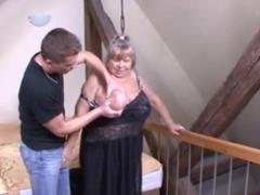 Slutty mature babe gets fucked hard