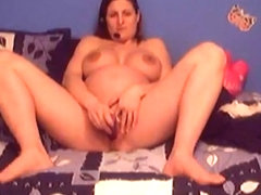 Hot pregnant webcam masturbation