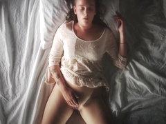 Girl masturbating -Adoni