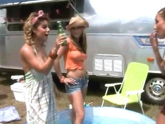 Celeste Star, Harmony & Rita Marie have fun