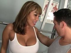 Horny pornstar in crazy creampie, cunnilingus xxx movie