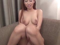 Fabulous Japanese chick Mai Yuzuki in Incredible blowjob, couple JAV video