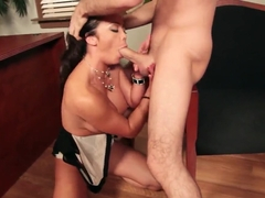 James Deen stuffs Mia Lelani really hard