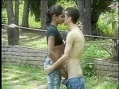 Hot ts latin babe outdoor