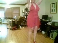 desirous floozy topless undress
