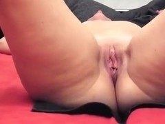 Double vaginal penetration ends in a creampie