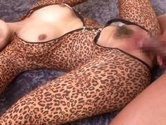 Hottest Japanese slut in Amazing JAV censored Small Tits, Creampie scene