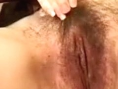 French Girl Shaving Pussy