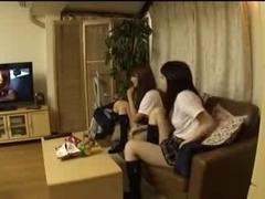 SchoolGirl discover erotic episodes in my room