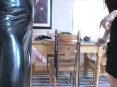 Sexy Mistresse & Domestic Bondman in Chastity (Pt 1)