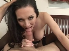 Hawt mother I'd like to fuck POV Fuck in Nylons and Creampie