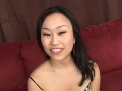 A Blowjob Interracial by a Lovely Asian Girl. BL