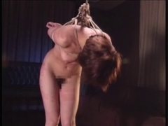 Oriental Fastened Standing And Spanked