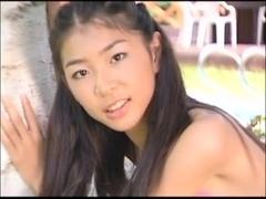 IZUMI Asuka pink bikini