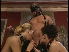 2 anal whores and a dude!