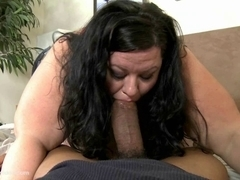 Hot SSBBW Desiree Divine Sucks Off Shane Diesel
