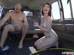 Big ass Lilith Addams get fucked in car