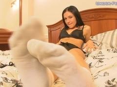 Under-Feet Video: Kristina