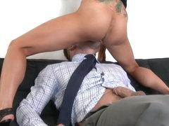 Romi Rain & Johnny Castle in Naughty Office