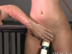 BDSM XXX Horny subs get a good slapping before anal