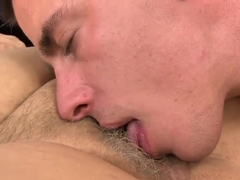 Mature with short hair licked and pounded