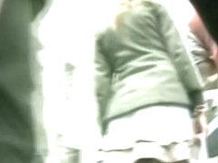 Upskirt street women video shots made by nasty voyeurs