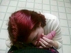 Red Head Reluctantly Suck My Dick