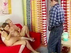 old man juvenile girl - 2 old men with sexy Kate