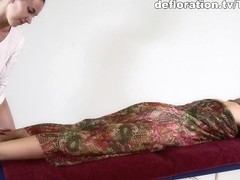 Nikita Jankovska - Massage Video